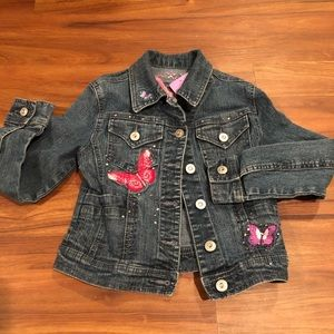 💕🥰🌸 Girls Jean Jacket by Arizona Jean Co🛍🔥‼️